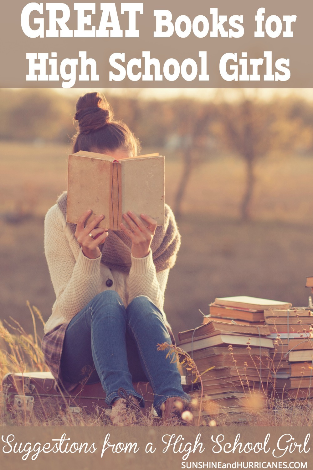 Are you tired of your daughter reading trashy books? We all know there is a time and place for a light beach read or a mindless novel to get lost in, but sometimes our girls need a little substance too! Here are 10 quality books all suggested for teen girls from a teen girl. 10 books for girls that aren't trashy .