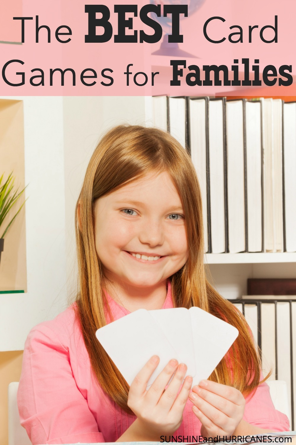 Looking for a fun way to spice up family game night? Need some ideas for games when grandparents or family members visit? We've got great ideas that family members from preschooler to teen and even that crazy Uncle will love! Bring the fun to your family room with these awesome suggestions for all ages! The Best Card Games for Families