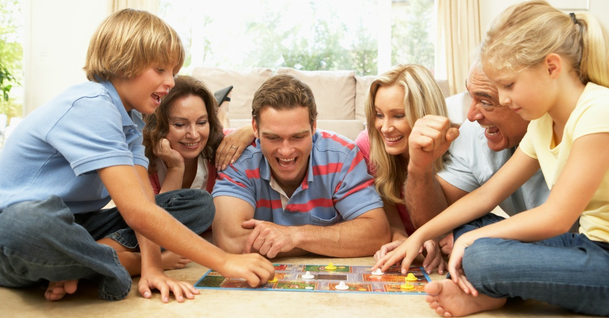 Image result for family board game night