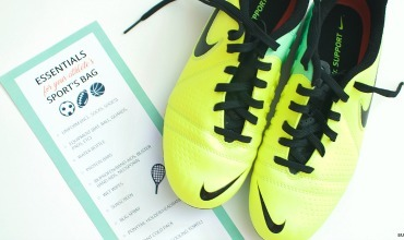 Kids Sports Bag Essentials with FREE Printable