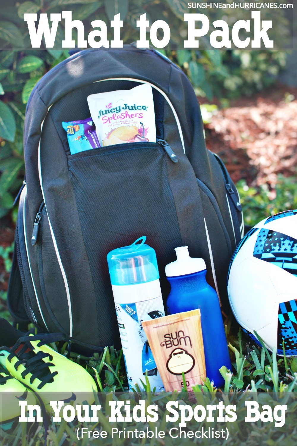 Help your kids learn the important life skill of keeping themselves organized for their activities and help them pack their own sports bag. This handy kids sports bag essentials checklist will be super helpful. Kids Sports Bag Essentials