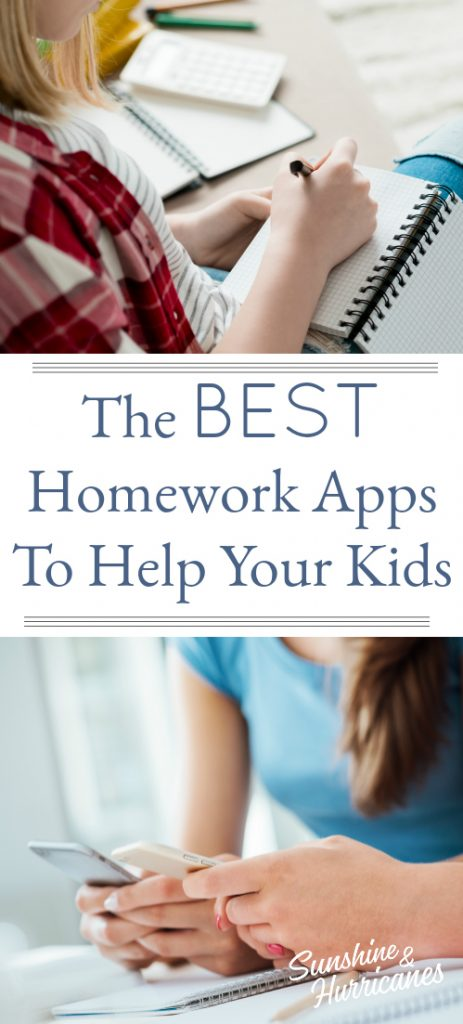 The best homework apps to help your kids succeed
