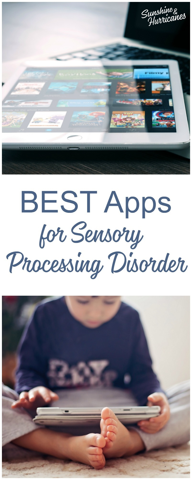 Best Apps for Sensory Processing Disorder. Technology is giving parents tons of new resources to help kids with special needs. Here are some of the most helpful,most of which are free.