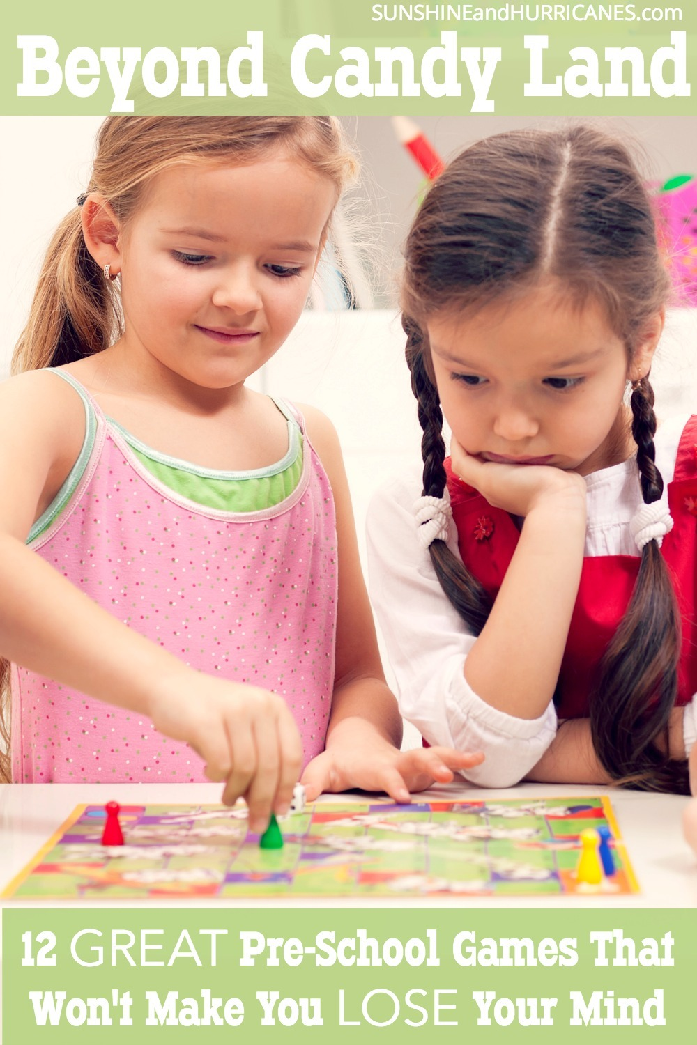 Do you feel like if you have to play one more game of candy land or chutes and ladders you might lose your mind? You are not alone. Luckily, times have changed and so have our choices for preschool games. There are tons of new board games for younger kids that are not only fun, but even educational. Here are our 12 top picks for preschool games.