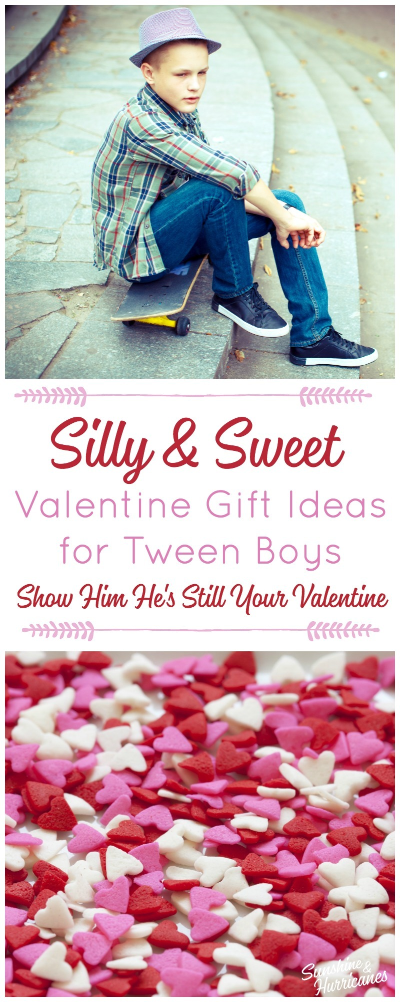 Valentine Gift Ideas for Tween Boys. Valentine's Day.