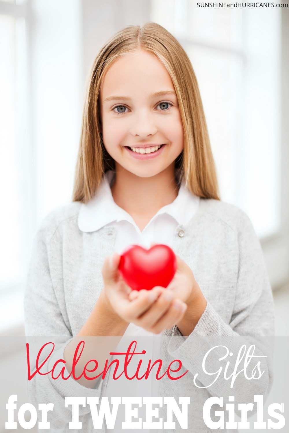 Your tween girl may be a little more spice than sweet these days, but she'll still appreciate these thoughtful tokens of appreciate that show you still want to be her Valentine. Valentine Gifts for Tween Girls.