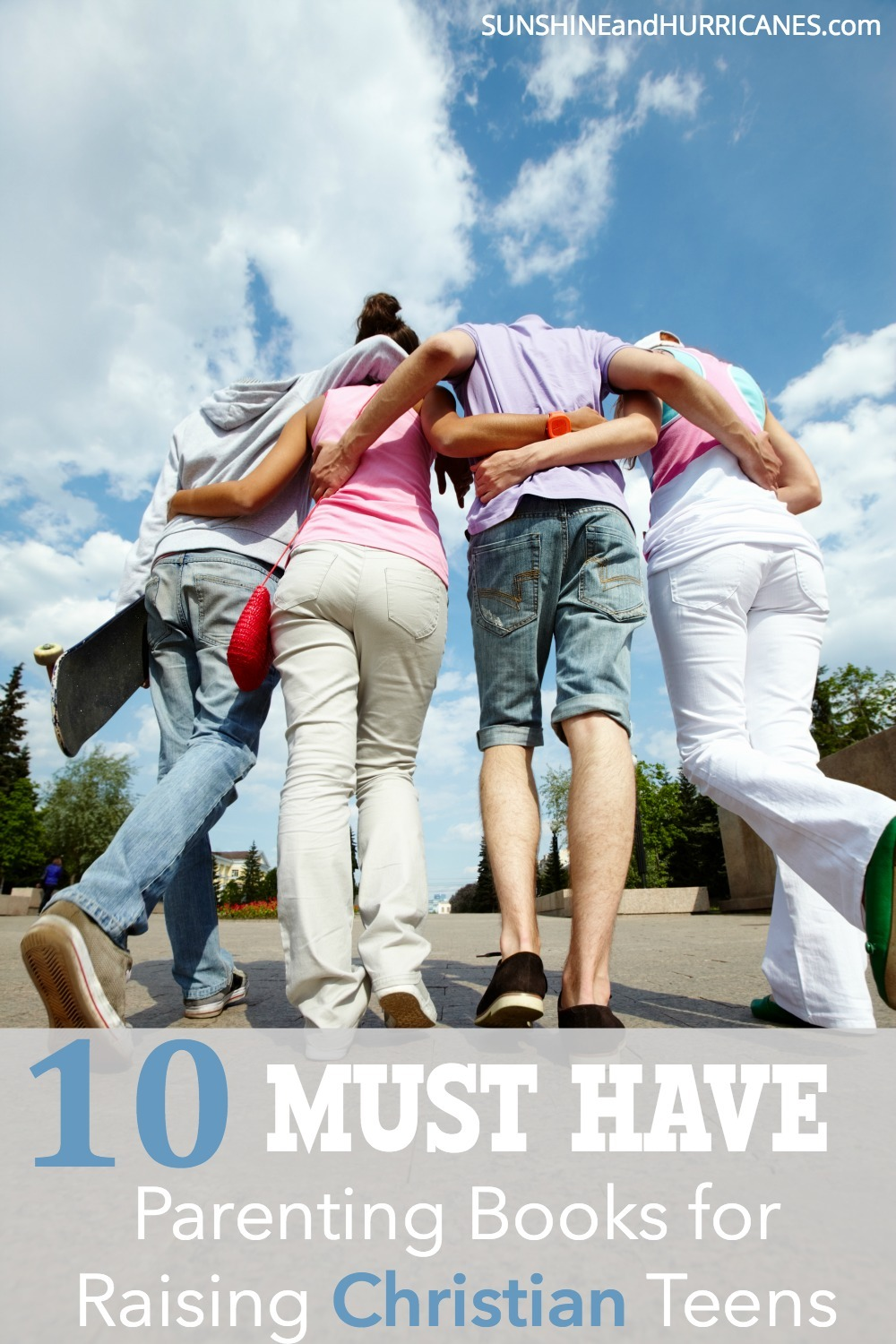 Raising christian teens in today's world is NOT easy. Prayers can be powerful, but your parenting has to be too. These 10 christian parenting books will become invaluable resources to you and your family as you help your teen build their own foundation of faith for the future.