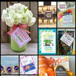 Find all the best ideas for your favorite teacher! Whether you need a holiday gift, end of the school year present, or something special for Teacher Appreciation Week, this roundup of printables will solve your problems! Teacher gift card holders, punny and funny gift ideas and even fill in question sheets are all included! Sunshine and Hurricanes
