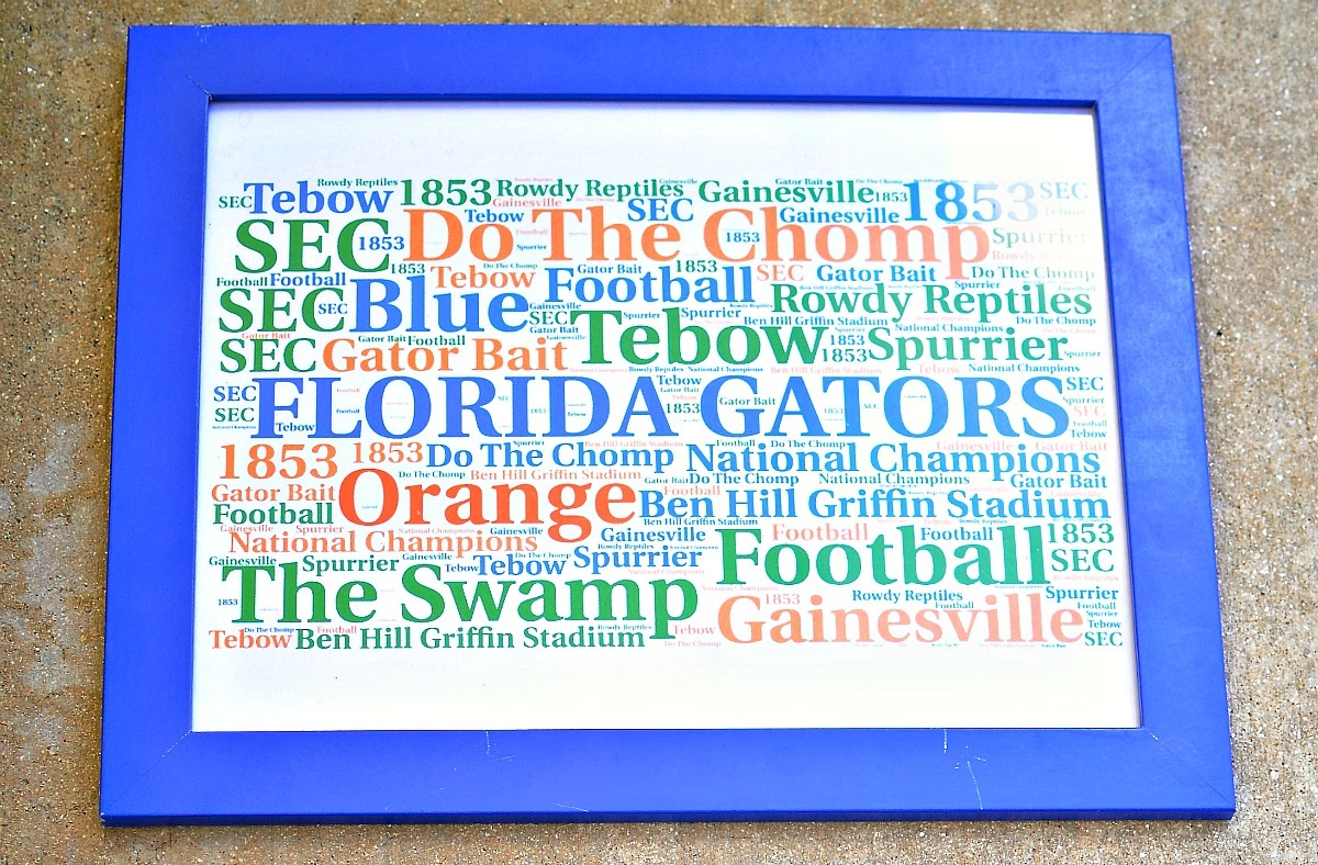 Word Cloud Collages make a great gift for birthdays, graduations or any special occasions. SunshineandHurricanes.com