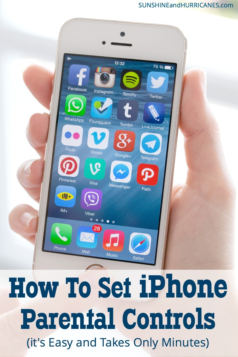 Do you want to keep your kids safe when they are using their iPhone (or yours)? Here is how to set iPhone parental controls. It's easy and only take a few minutes.