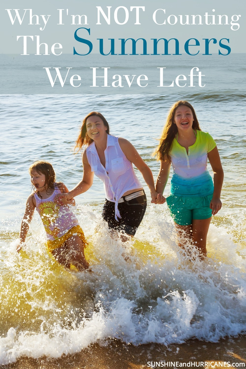 Why I'm Not Counting The Summers I Have Left With My Children. SunshineandHurricanes.com