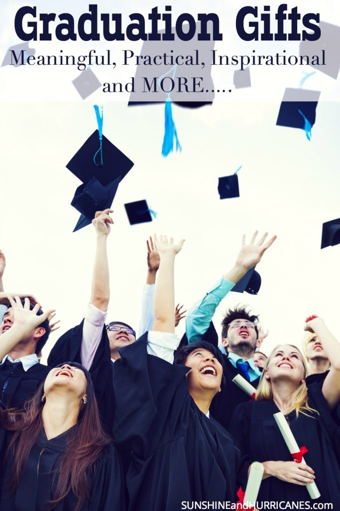 Whether you need ideas for a high school graduate or a college graduate, these ideas for graduation gifts cover everything from meaningful to practical and even inspirational.
