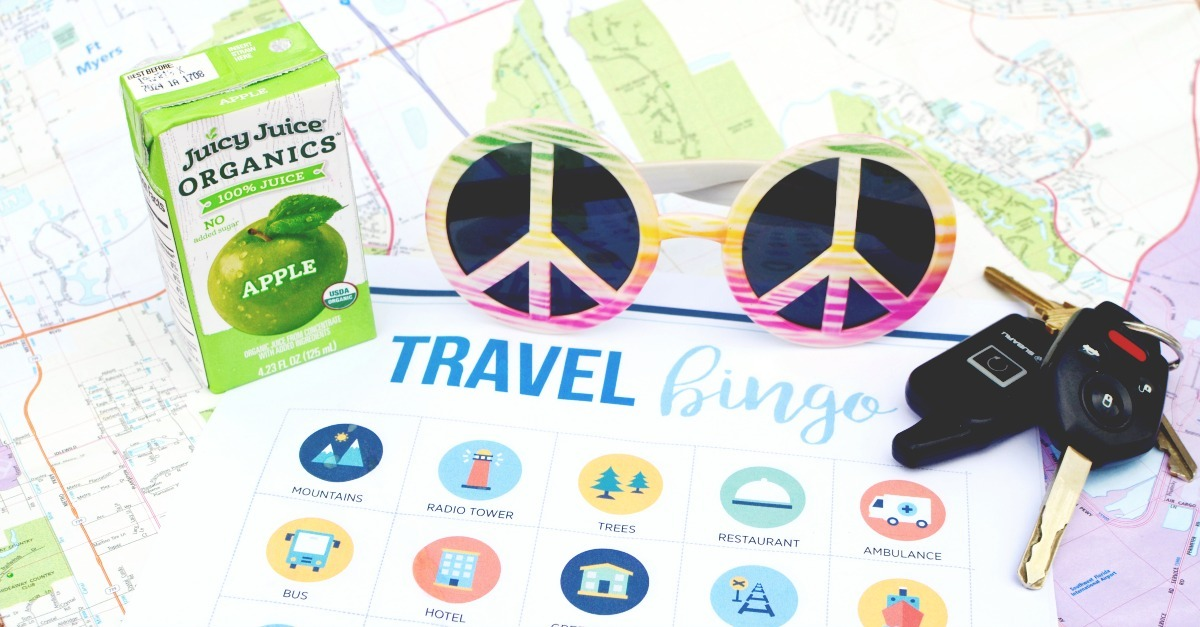10 Awesome Activities for a Rockin' Family Road Trip, including a Printable Road Trip BINGO