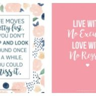 Printable Quotes for Teen Girls – Fun and Totally FREE
