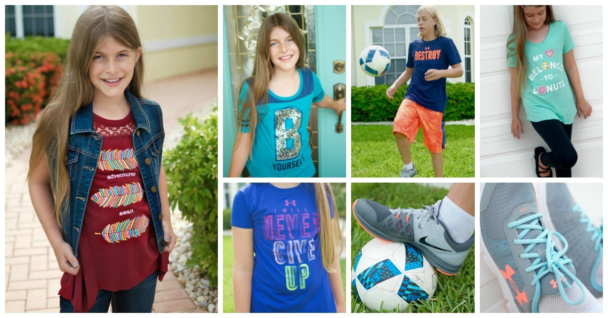 Back To School Clothes For Kids At Kohl S Big Style Big Savings