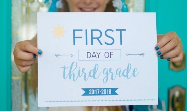 First Day of School Printables – Capture Their Cuteness Forever