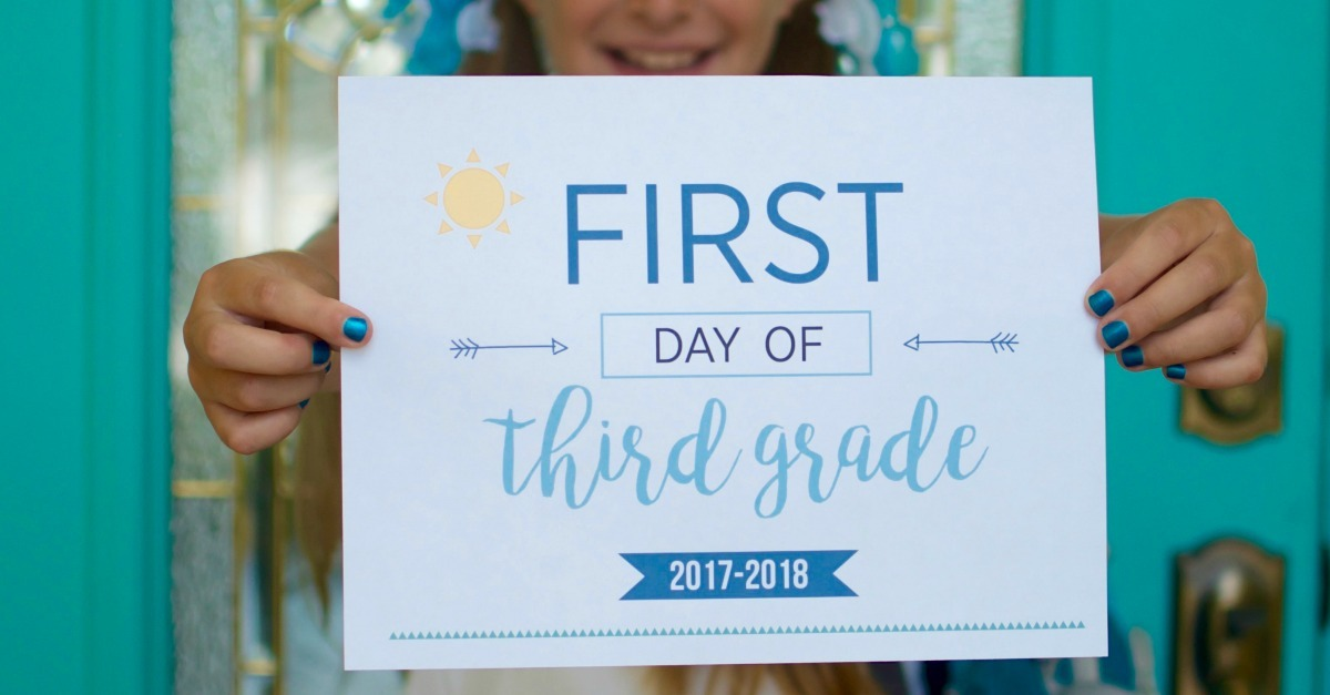 First Day of School Printables K-12th. Capture these special moments and see how your kids change over the years on their first day of school. FREE First Day of School Printables sunshineandhurricanes.com