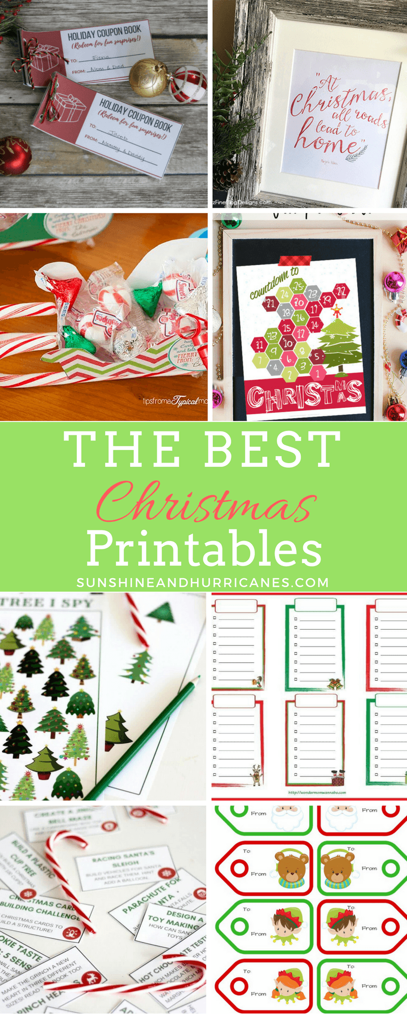 Christmas Printables of all kind are a perfect for adding festive holiday decor to your home, personalizing christmas gift giving or finding fun holiday activities for the kiddos.