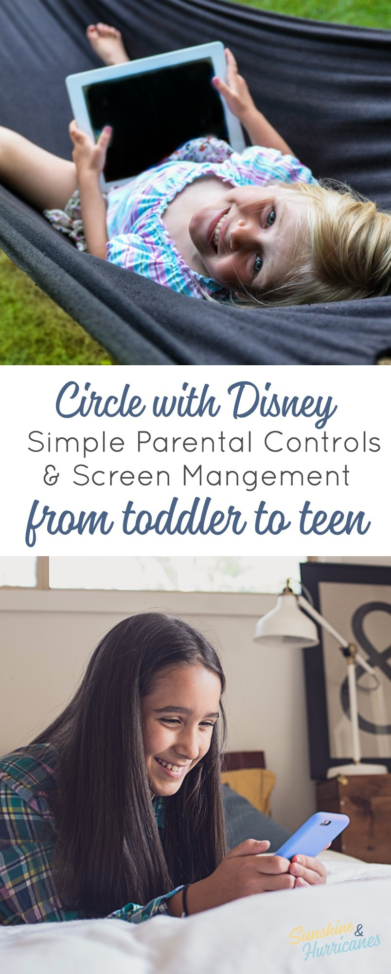 Circle With Disney provides a simple solution for parents trying to manage today's complicated technologies. It helps keep kids, tweens and teens safe online with parental controls that make sense.