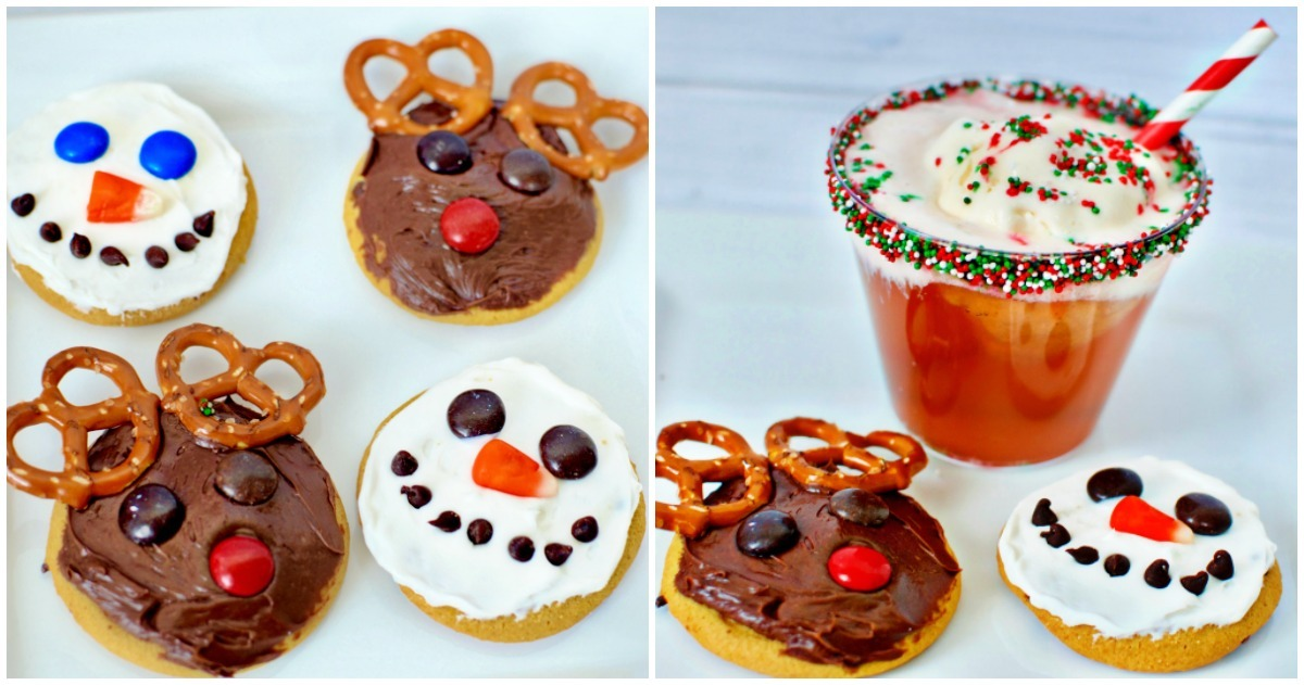Mix-Up Some Jingle Juice, decorate some cookies and play some fun family Christmas games for the perfect holiday family game night.