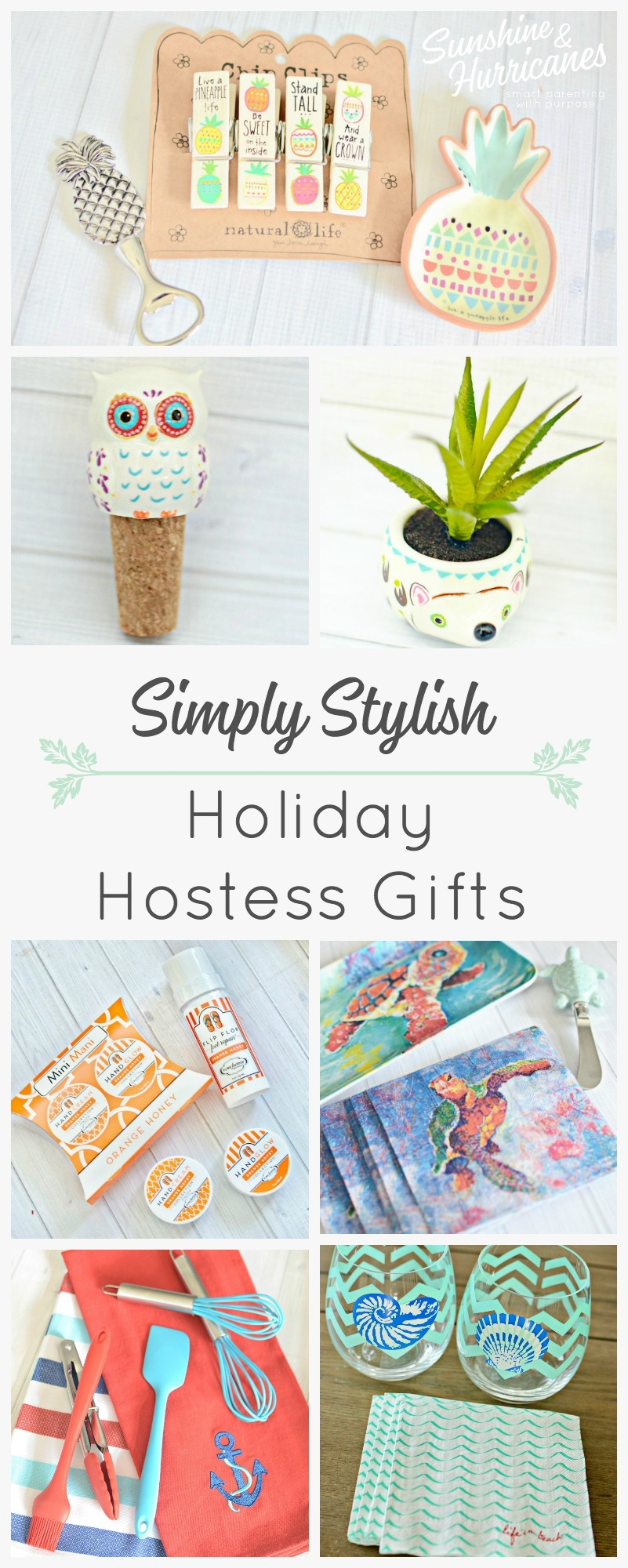 Simply Stylish Holiday Hostess Gifts. Show your gratitude with these unique and thoughtful gifts that are perfect to take to any gathering.