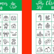 Printable Christmas BINGO – Holiday Games for Kids
