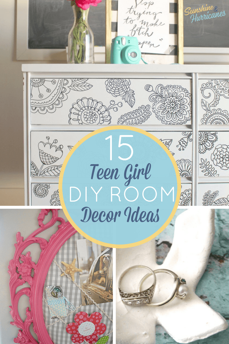Superb Teen Room Decor 15 Stylish Diy Projects For Teen Girls Home Interior And Landscaping Ologienasavecom