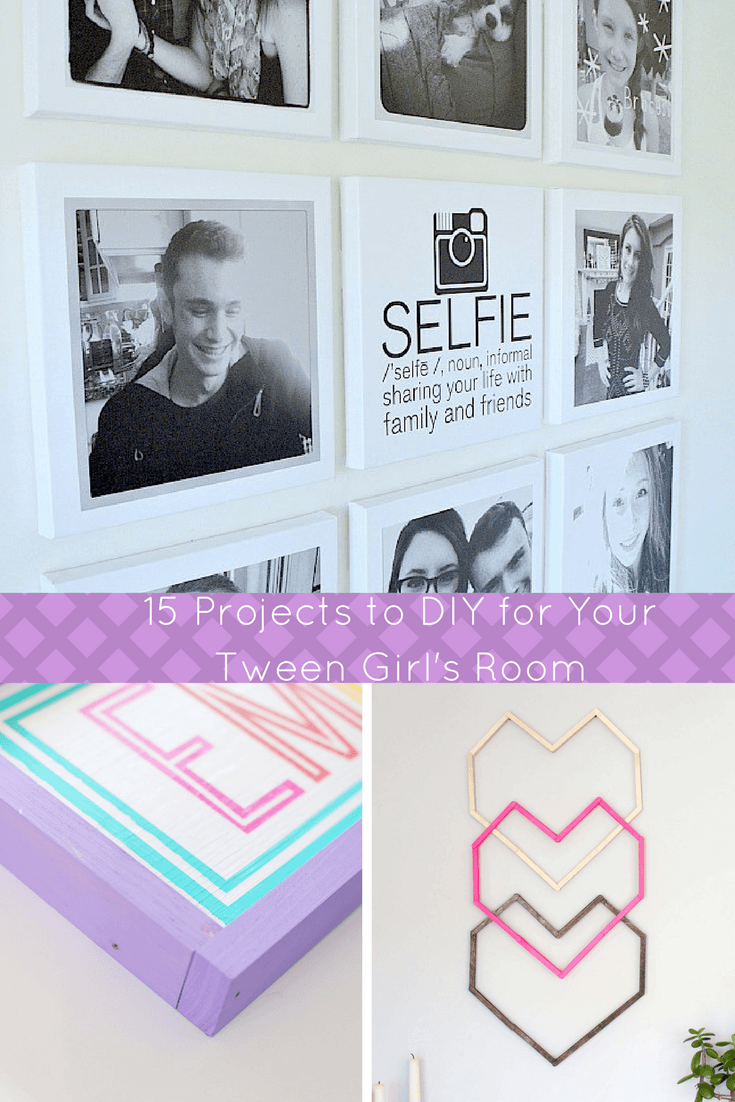 Looking for some ideas for a teen girl bedroom? Check this out - Teen Room Decor 15 Stylish DIY Projects for Teen Girls