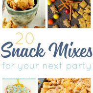 20 Simply Scrumptious Snack Mix Recipes For All Occasions