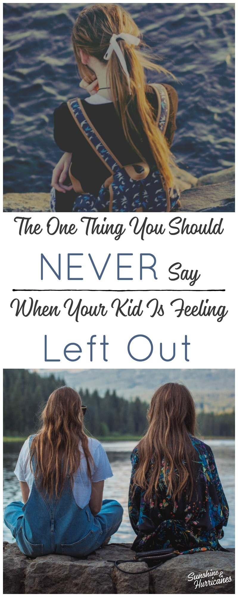 Feeling left out is common for kids. What we say to them in these situations matters and will shape how they deal with many other childhood challenges.
