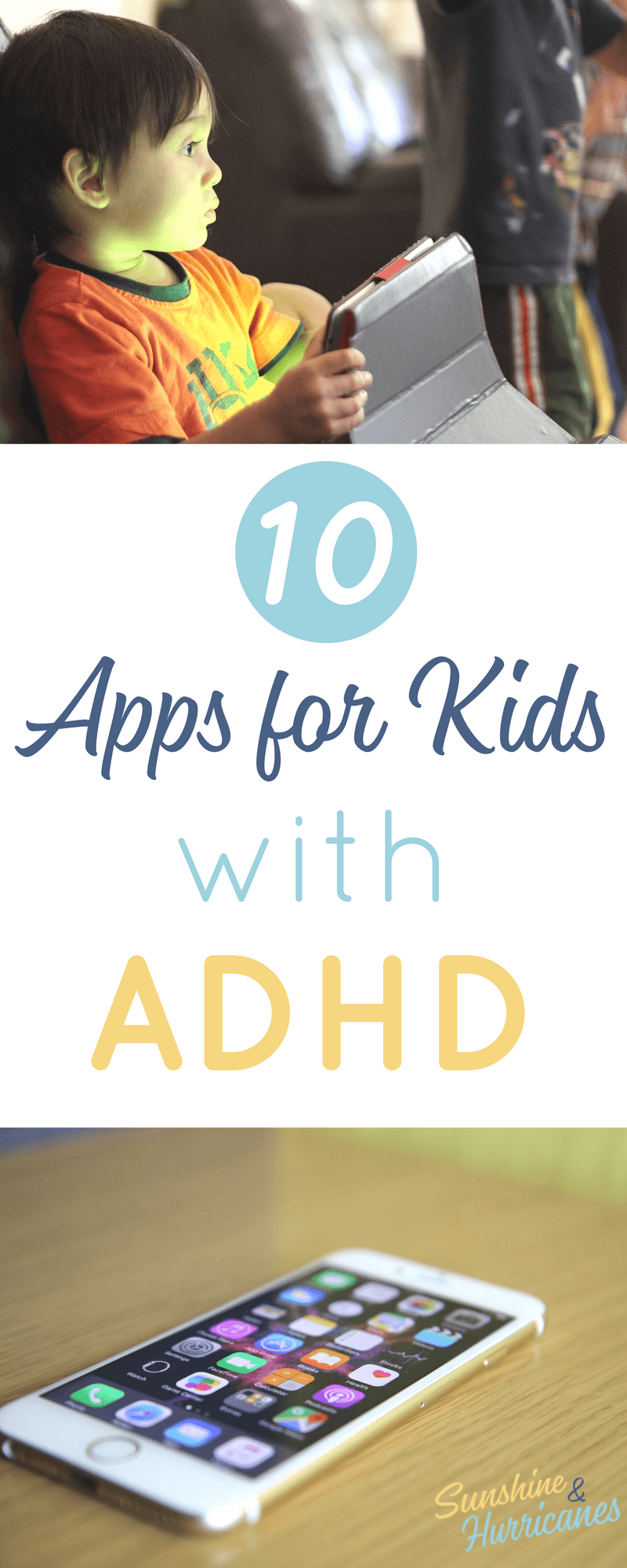 10 ADHD Apps for Kids to help your children learn to stay focused and better manage everyday tasks. Apps|Apps for Kids|Special Needs| Special Needs Apps| Apps for Learning Disabilities