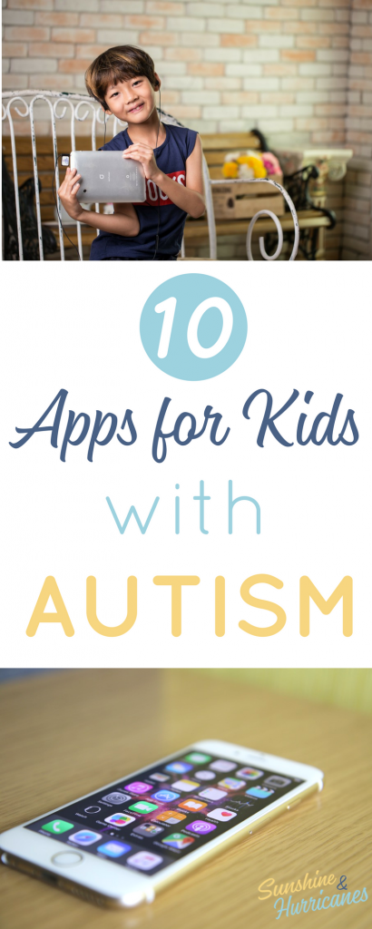 When raising a child on the autism spectrum, today's technology can be a powerful tool for parents, educators and therapist. These 10 Autism Apps are highly rated and can help autistic children with a number of challenges they face. Autism| Autism Apps| Apps for Kids| Special Needs|Apps for Kids with Special Needs