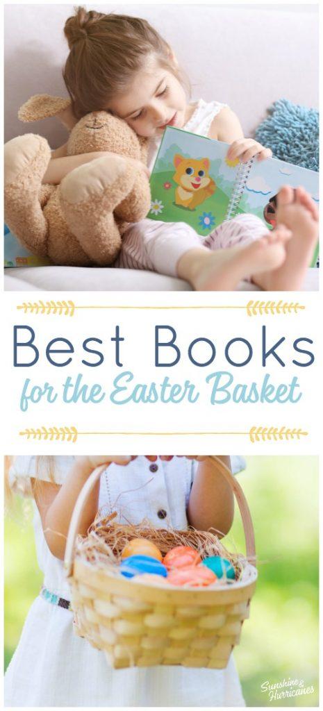 Best Books for the Easter Basket. Easter Basket Ideas for Kids.