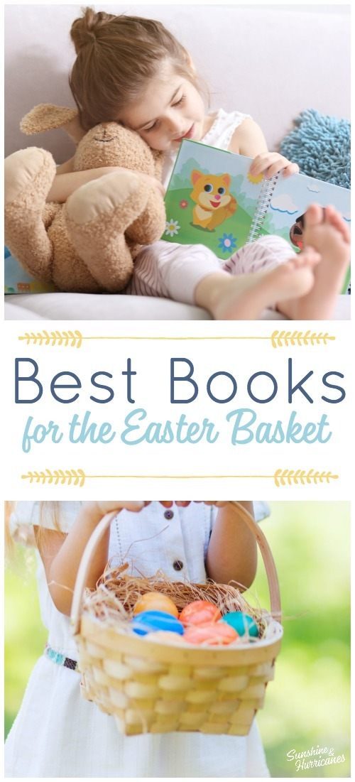 Best Books for the Easter Basket. Easter Basket Ideas for Kids.