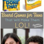 Laughter is a great way to connect with your teen or tween. Bring some fun back into your relationship with these board games for teenagers that will have them laughing out loud.