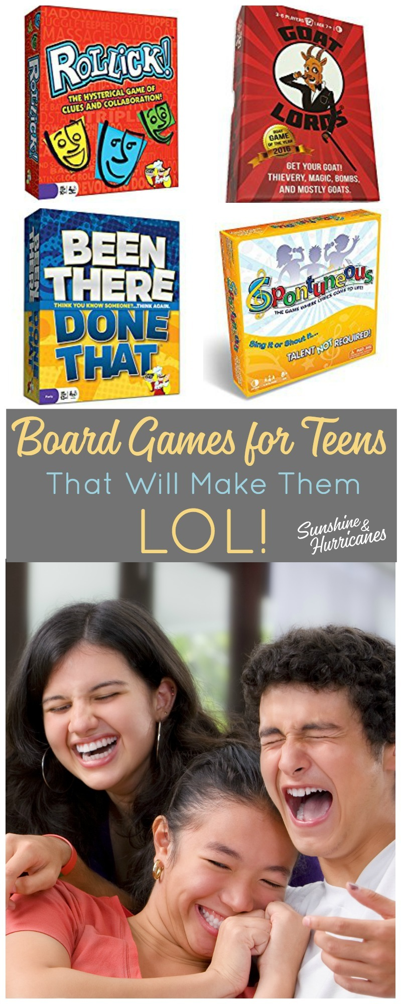 laughter is a great way to connect with your teen or tween bring some fun