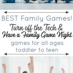 Best Family Games - Board Games for Toddlers to Board Games for Teens. Fun for the whole family to get you off your tech and bringing family game night back!