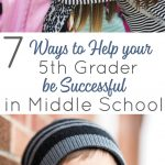 7 life skills to help your 5th grader transition to middle school successfully