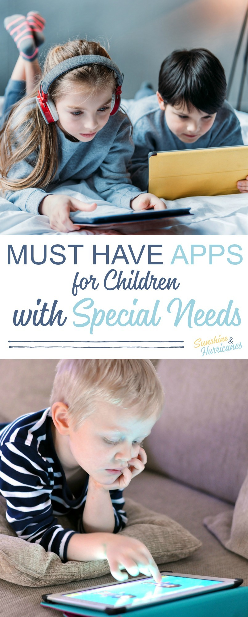 Must Have Special Needs Apps for Children. Technology has become a game changer when it comes to helping kids with learning disabilities, Autism, ADHD and other special needs. Learn more about the best apps you can use with your child .