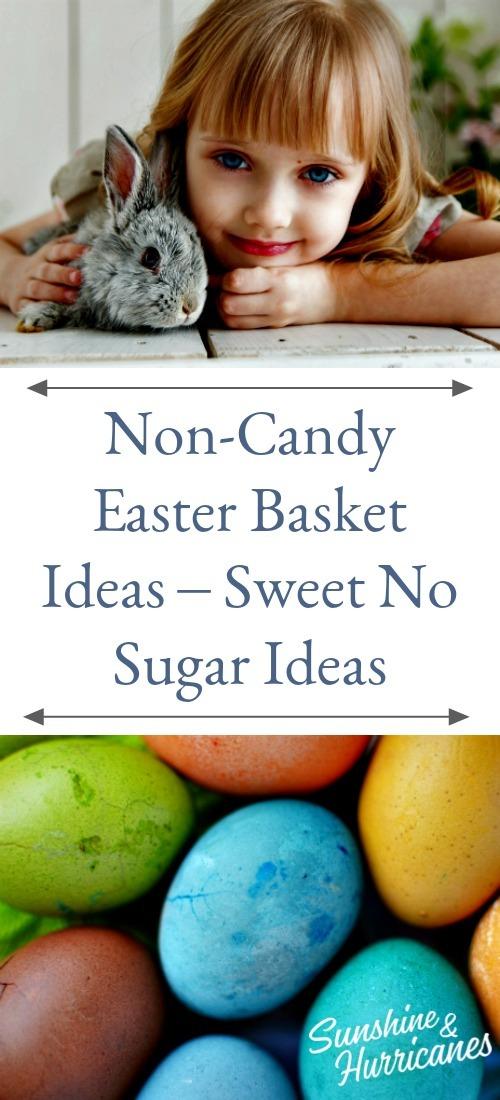 Non-Candy Easter Basket Ideas - Sweet No Sugar Ideas