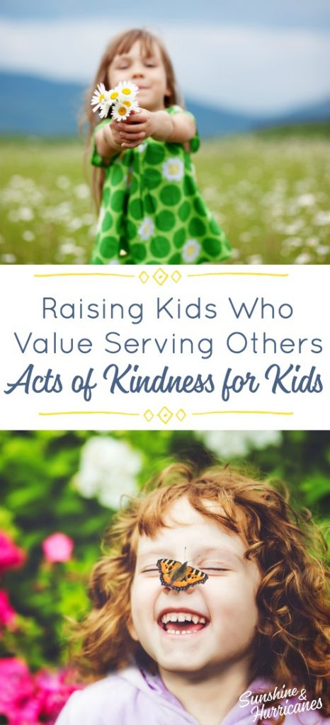 Teach kids the value of serving others. Acts of Kindness for Kids. Birthday Project.