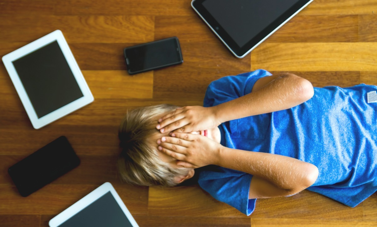 How To Stop The Turn It Off Tantrums - Sceen Time Sanity The Crazy Easy Guide To Doing Technology With Your Kids