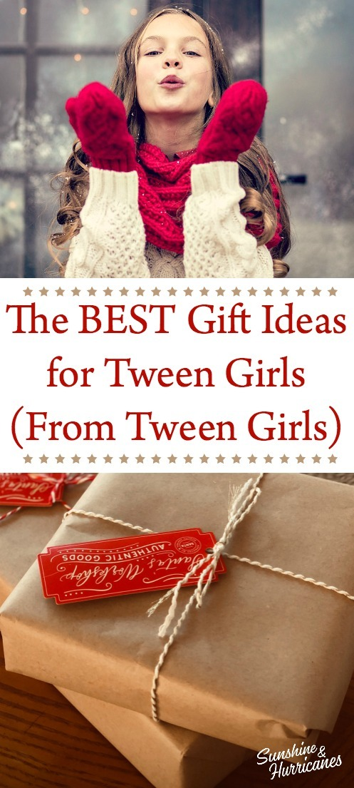 The BEST Gift Ideas for Tween Girls (From Tween Girls)