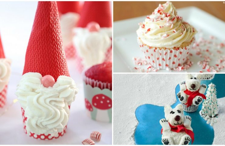 15 Christmas Cupcakes That Are Fun & Festive