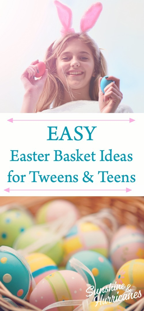 Easy Easter Basket Ideas for Teens and TWeens