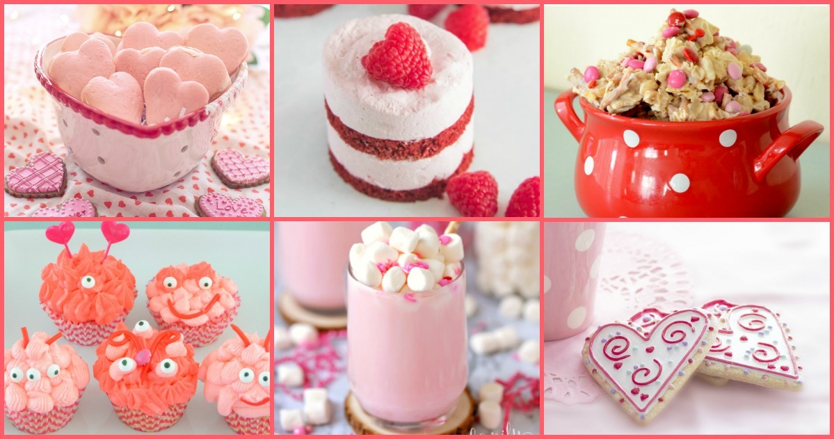 Red and Pink Themes Valentine's Day Recipes