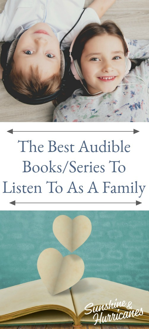The Best Audible Books/Series To Listen To As A Family