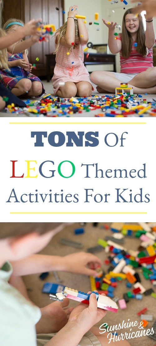 Lego Themed Activites for Kids Pin 1