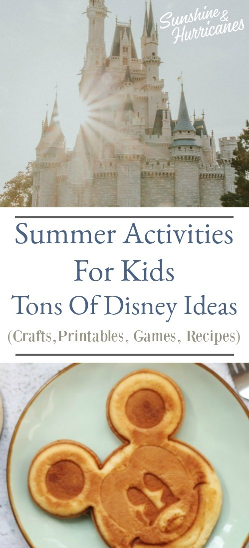 Summer Activities For Kids - Disney Week